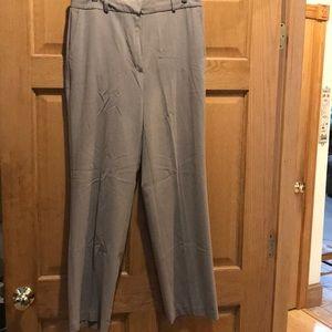 Van Heusen stretch dark tan trousers
